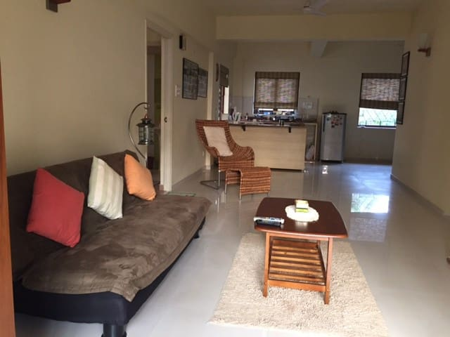 Beautiful 1 Bhk Apartment in North Goa, Siolim - Mapusa