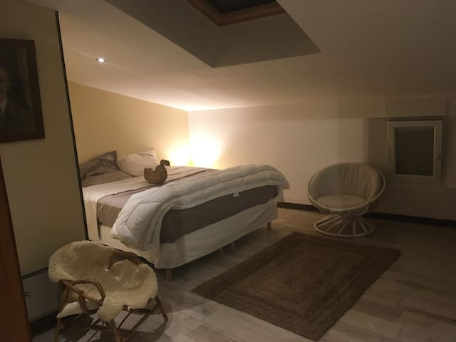 Nice room with own bathroom in countryside/village