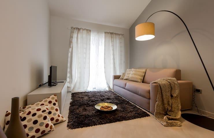 Villa Stella-one bedroom apartment with balcony - Rovinjsko Selo - Departamento