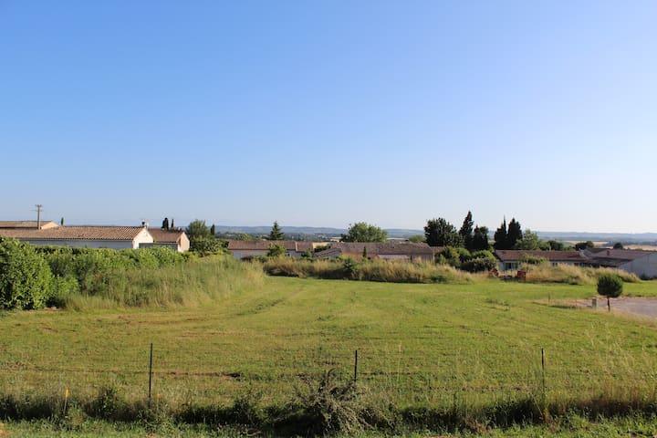Charming Village -view Pyrénées - Souilhe