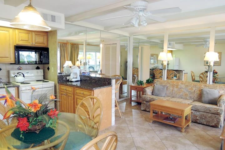 ★Excellent Beach Front Location! Overlooking the Gulf of Mexico at St. Petersburg Beach