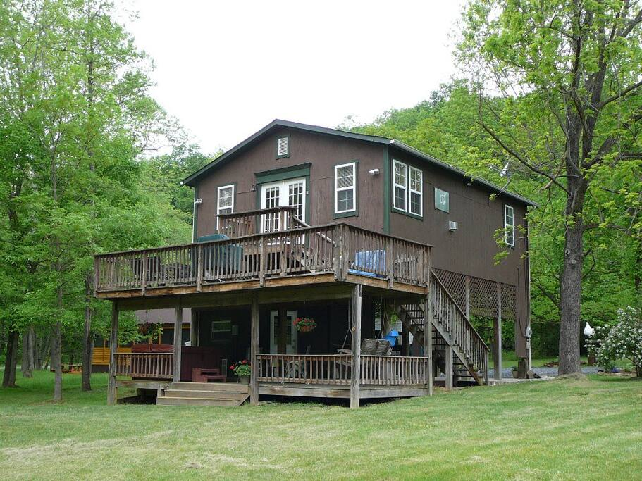 bear valley river cabin cabins for rent in luray