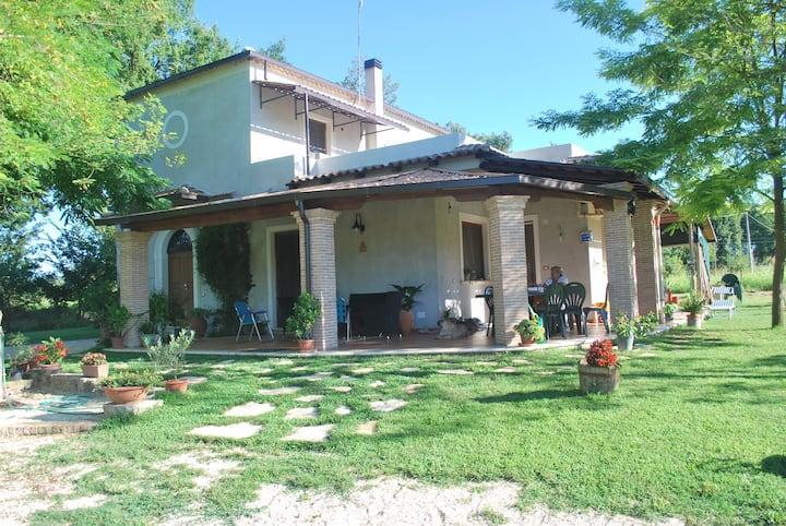 Maison Antera, nel verde ciociaro