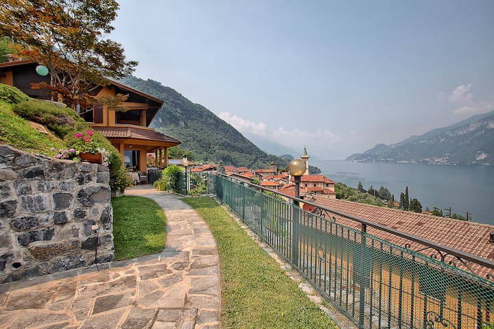 Casa Greta: Bellagio, como lake, and Grigne view - Limonta - Hus