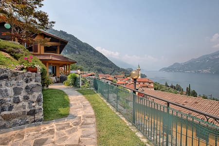 Casa Greta: Bellagio, como lake, and Grigne view - Limonta - 獨棟