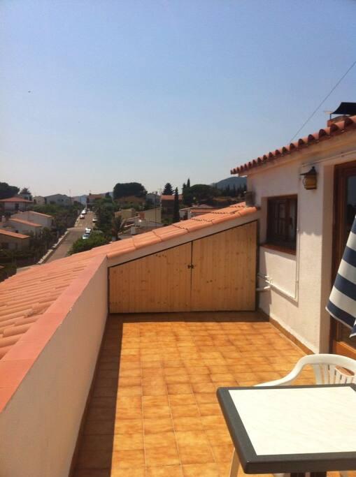 Terraza privada - private terrace