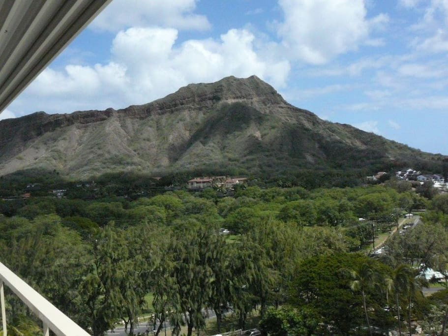 Spectacular View of Diamond Head Volcano - as Viewed from Suite