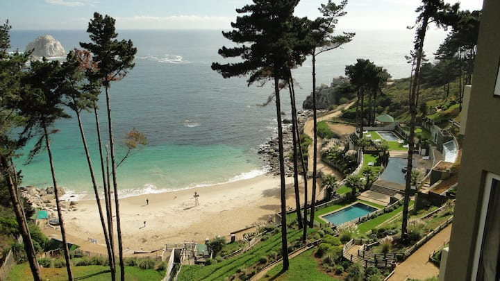 Fabulous apt and Gorgeous view, Algarrobo, Chile