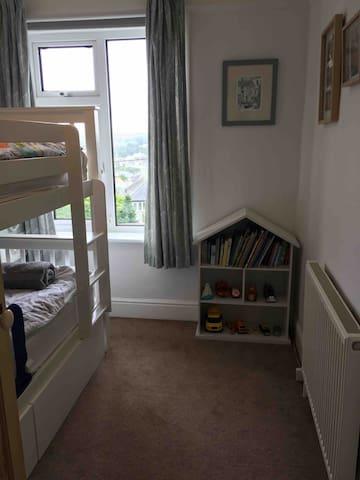 Bedroom 3-bunk beds