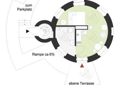 Wohnen im historischen Wasserturm - Waren - Apartment