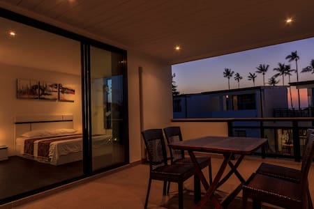 Family apartment with sea view - Huoneisto