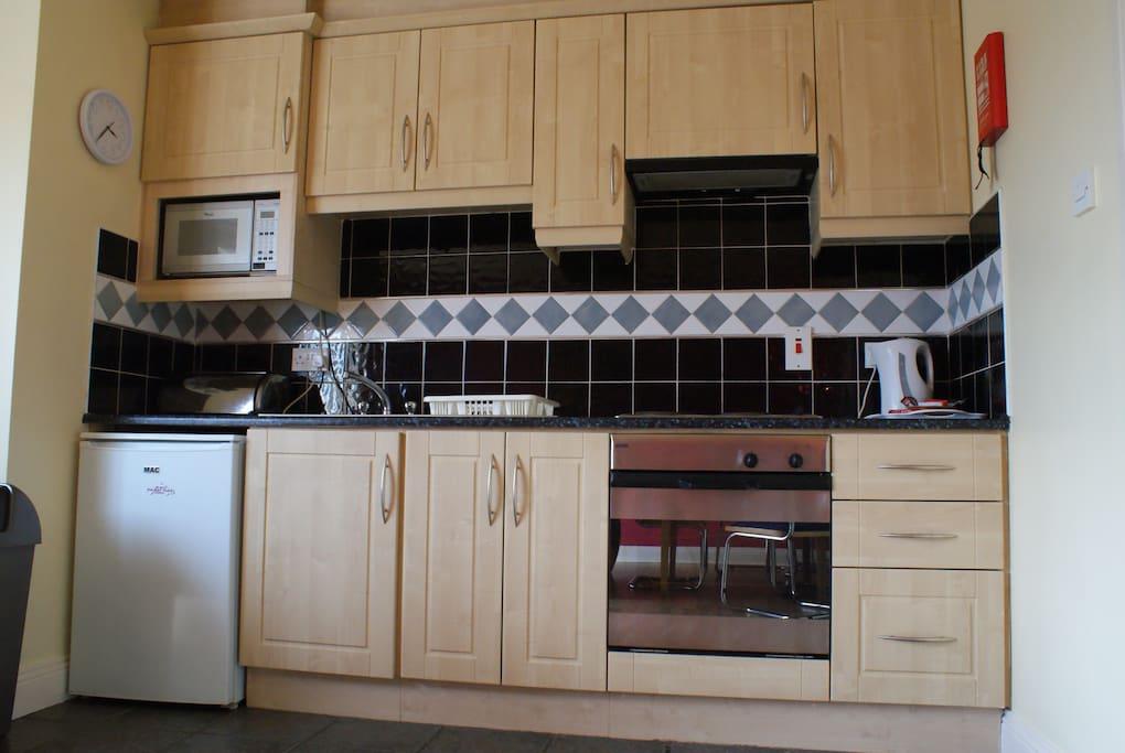 Glasan Holiday Village Apartment Kitchen