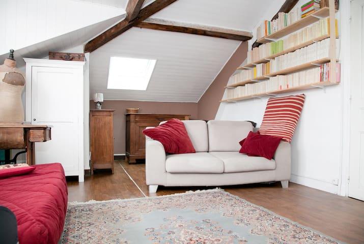 15 mn  Paris chambre indépendante - Bourg-la-Reine - Casa