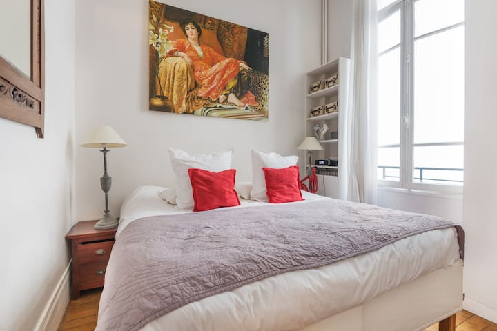 centre de Paris , appart cosy,  beau quartier