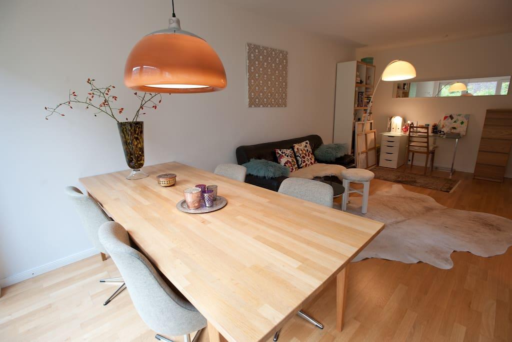 Terrace-Room to garden in Eppendorf