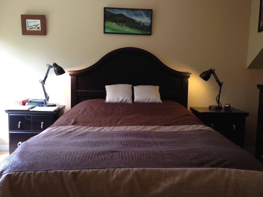 Photo 2 de la chambre (étage).