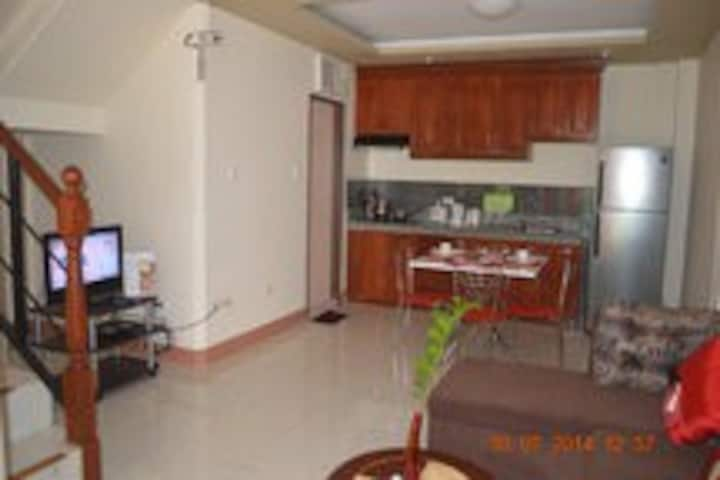 3 Bedroom up to 8 persons with kitchen and dining