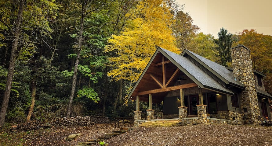 Reconnect with what really matters | Perfectly nestled in the trees of Pisgah National Forest