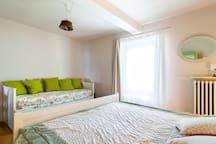 il divano letto - the sofa-bed