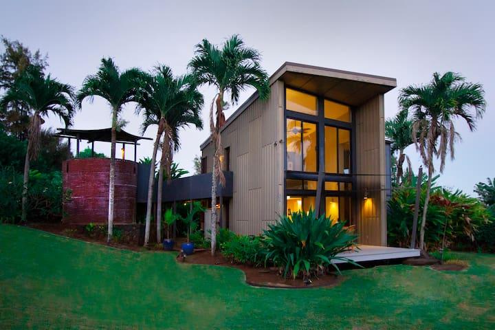 Private Getaway in Modern Kauai Home
