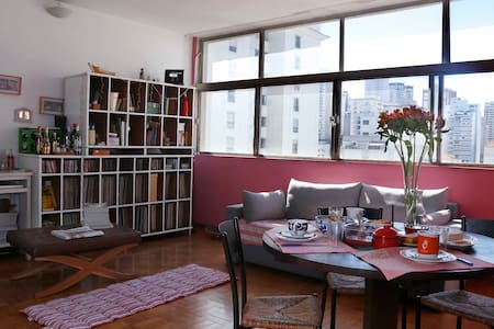 Room in colourful apt at Pinheiros - Σάο Πάολο
