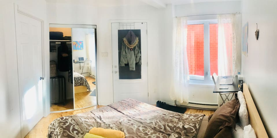 Cozy and bright room at 3 min from metro station