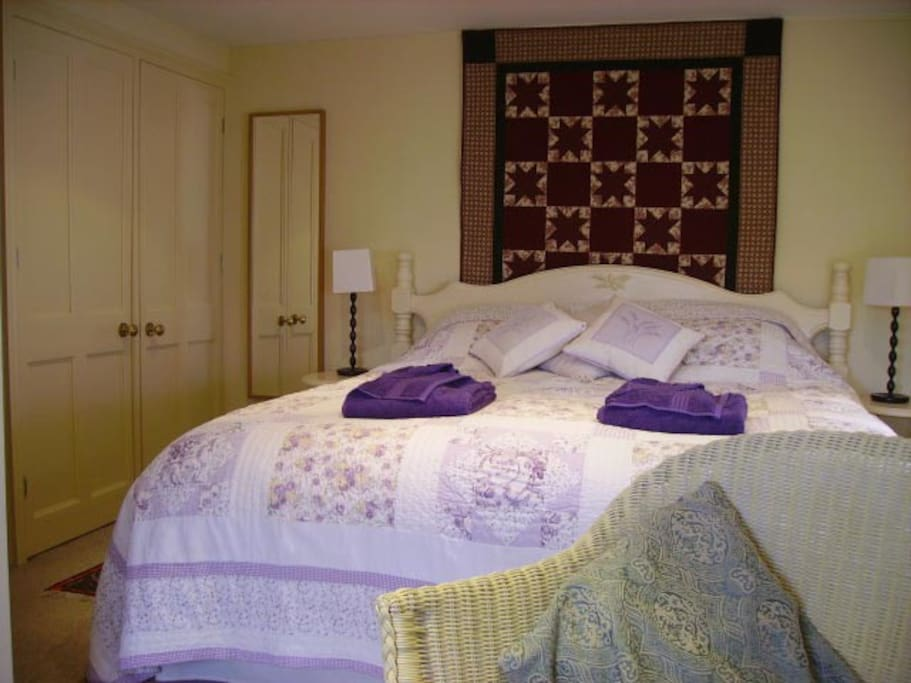 Room 1 with super-king size bed