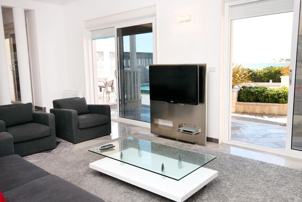 Living room, Surface: 31 m²