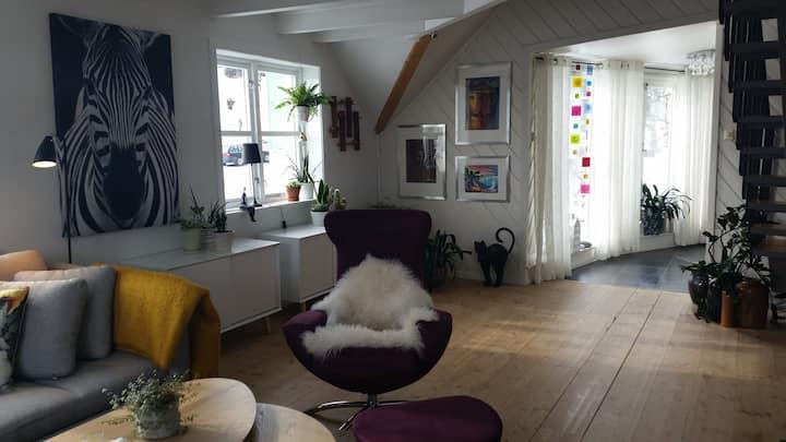 Fin leilighet i 2. etage i sentrum av Tromsø.