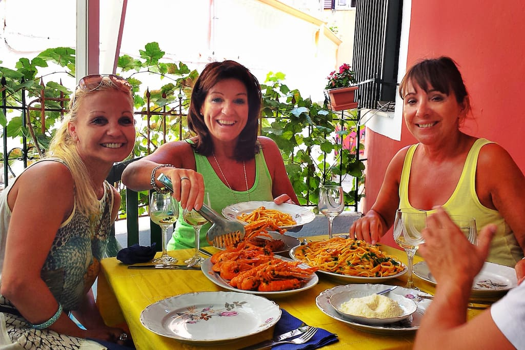 Welcome to Casa SanRocCO,have your dinner in the private garden ..