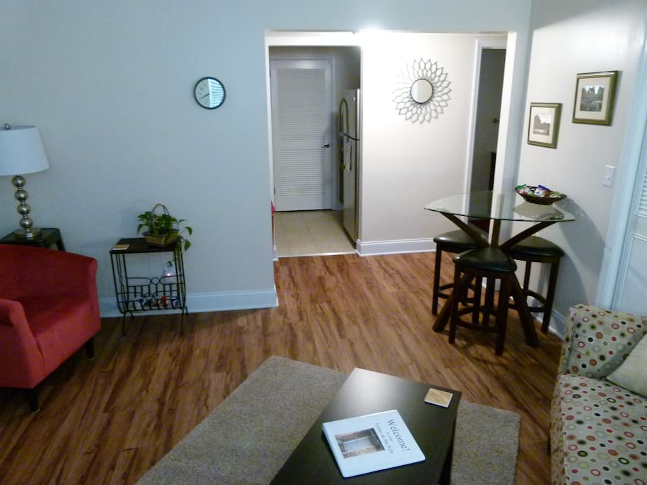 Dining Area and Kitchen Entrance