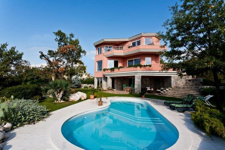 Magnificent villa on Adriatic sea - Kostrena - Villa