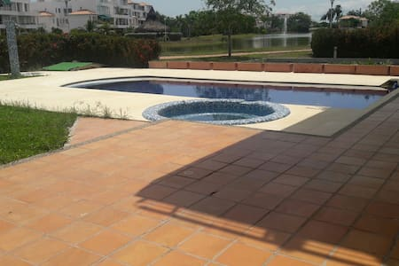 Apartamento con piscina propia - cartagena cartagena - Appartement