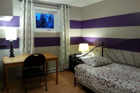 Chambre pour 1 ou 2 personnes, 2 lits gigognes