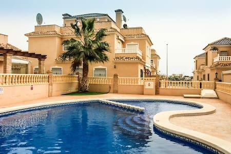 Nice 3bedroom property at the beach - Torre de la Horadada - Casa