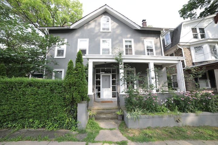 Lovely Chestnut Hill home w/ yard & parking