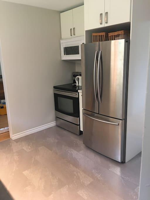 Fresh new kitchen!