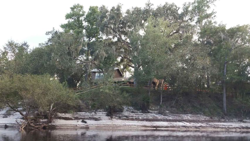 Suwannee River Oasis Waterfront Cabin in Paradise