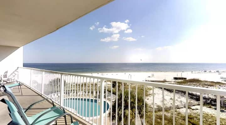 #3501 perfect views in gulf front corner unit