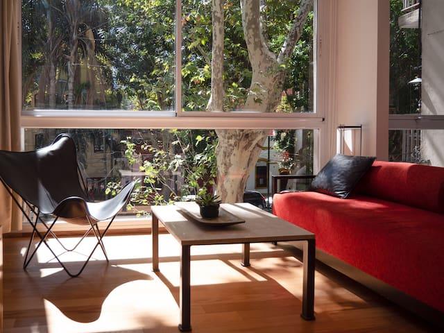 Palermo Soho Apartment, Balcony Views