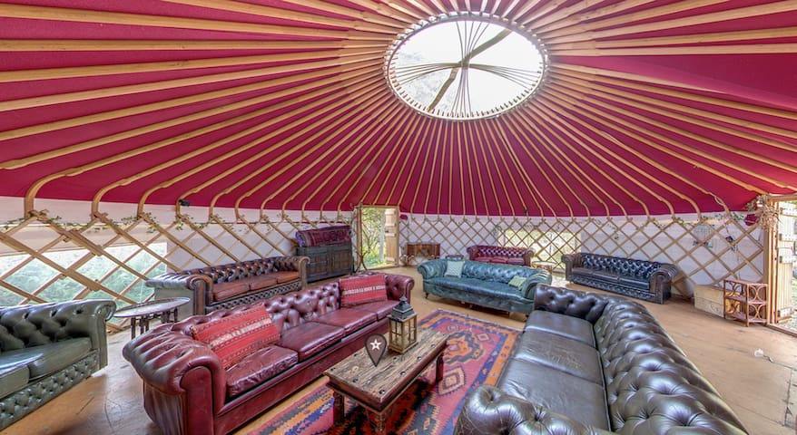 Plush Tents is a Beautiful Mongolian Yurt Village
