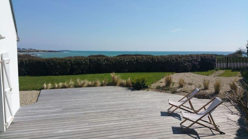 House, Trévignon, total  sea view !
