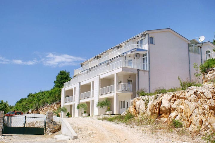 Studio flat with terrace and sea view Komarna, Ušće Neretve (AS-2739-d) - Komarna - Other