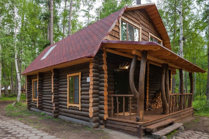 Luxury Log Cabin and All-Inclusive: Family Lux