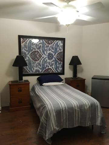 Cozy Bedroom, Ideal for Baseball and NASCAR fans