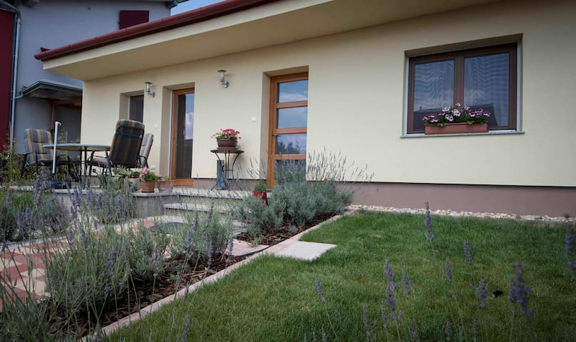 Modern apartment 2 bed-/2 bathrooms in Podersdorf