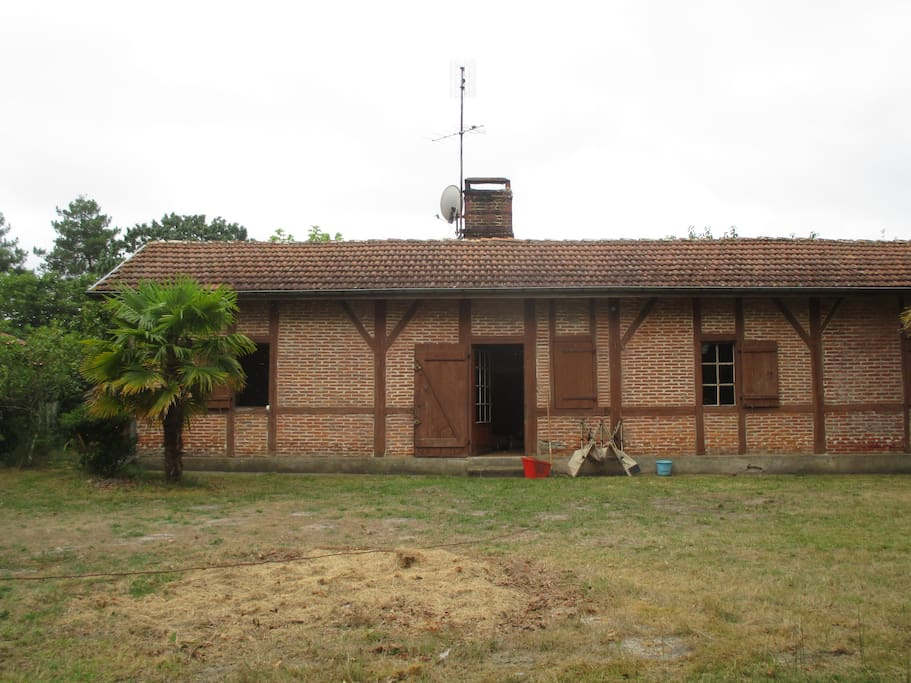 La maison, entrée principale