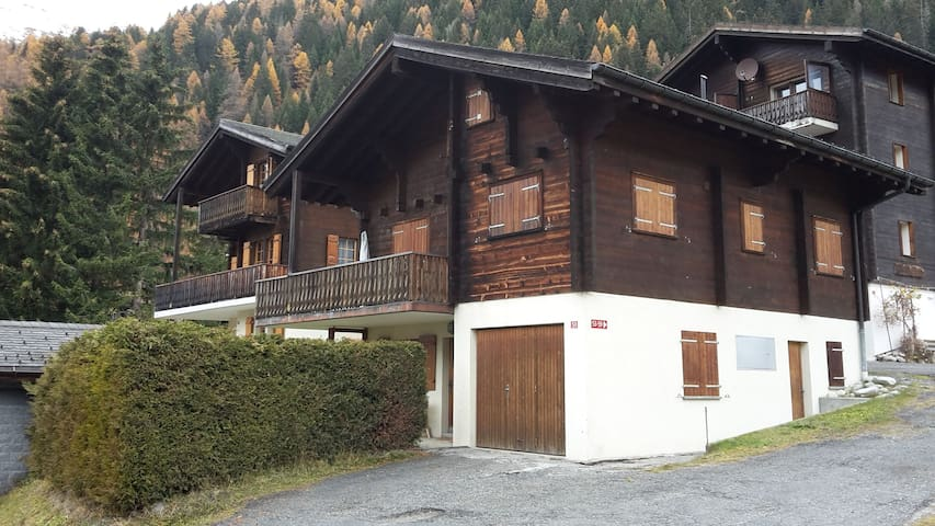 Cosy flat in chalet - Ritzingen - Apartment
