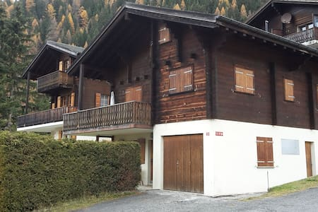 Gemütliche Chalet-Wohnung - Ritzingen - Appartement