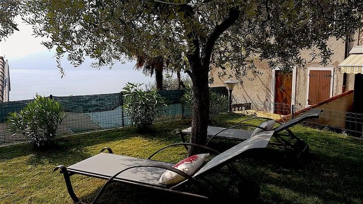 Torri del Benaco  Casa privata Lucilla vista lago